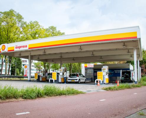 Service en onderhoud Shell Express - Van Laar TSO BV