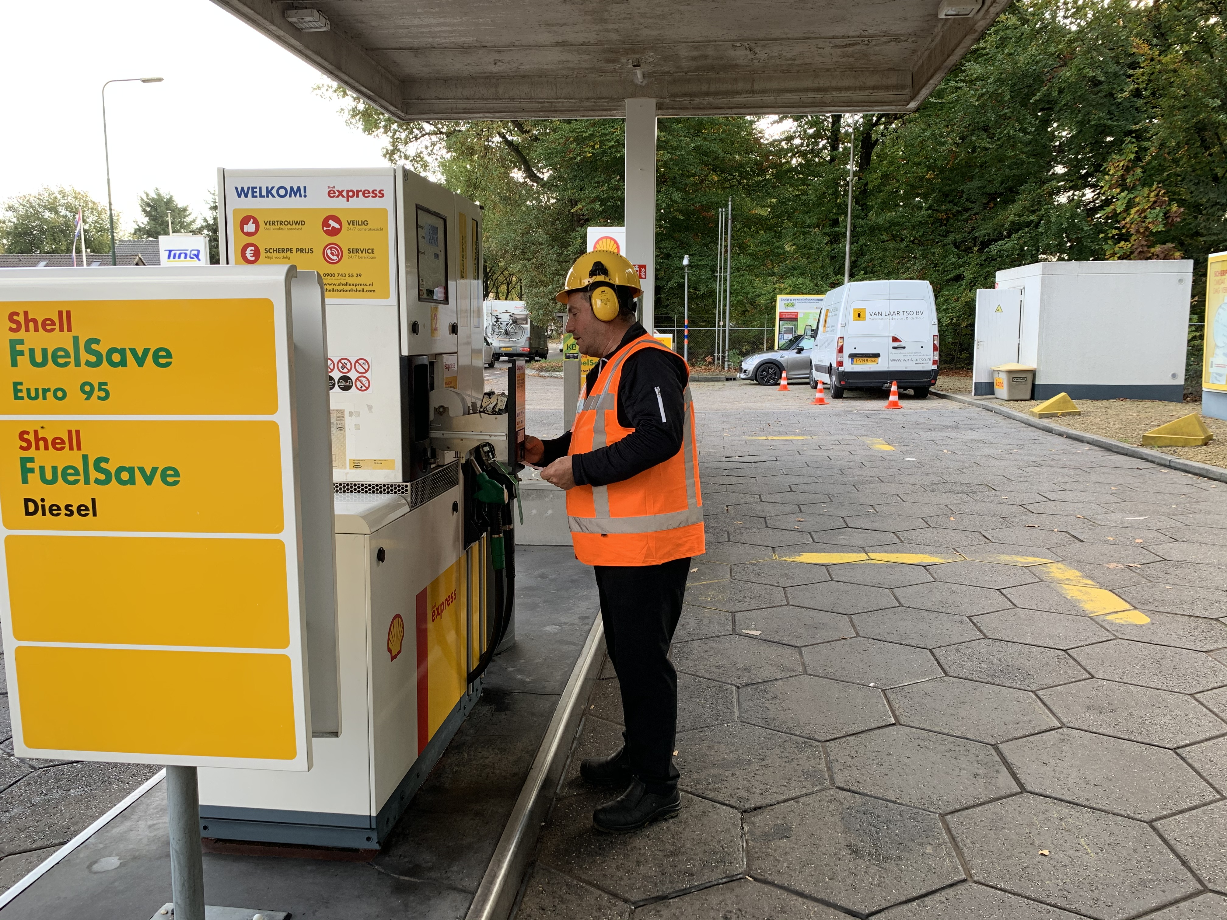 Bonrol vervangen Shell Express